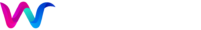 Wimbo logo 2 white